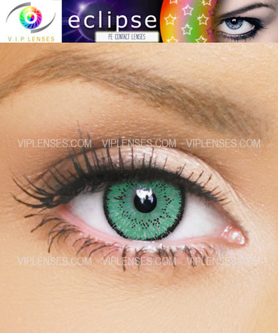 Eclipse Aqua Contact Lenses