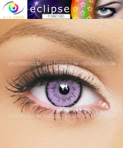 Eclipse Violet Contact Lenses