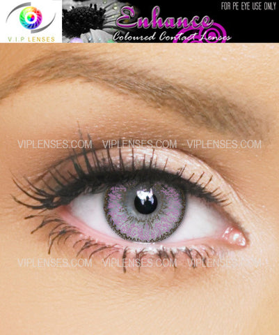 Enhance Lilac Contact Lenses