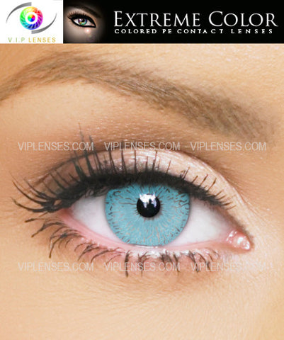 Extreme Seductive Blue Contact Lenses