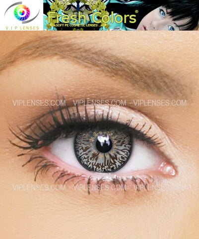 Fresh Colors Dark Brown Contact Lenses