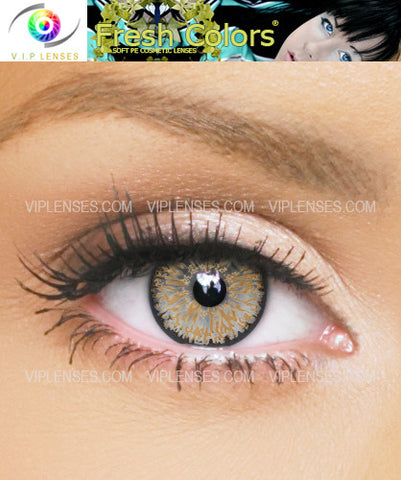 Fresh Colors Hazel Contact Lenses