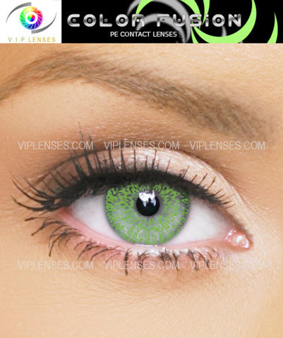 Fusion Green Contact Lenses