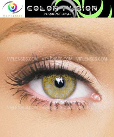 Fusion Honey Contact Lenses