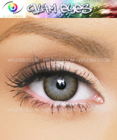 Glam Grey Contact Lenses