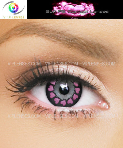 Halo Love Violet Contact Lenses