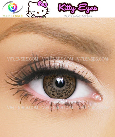 Kitty Brown Contact Lenses