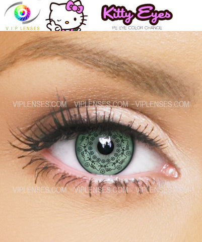 Kitty Green Contact Lenses