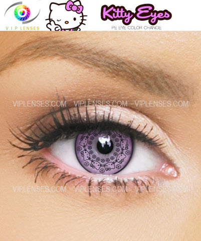 Kitty Pink Contact Lenses