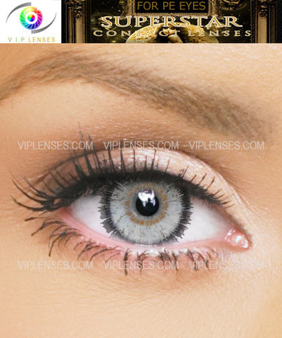 Superstar Grey Contact Lenses