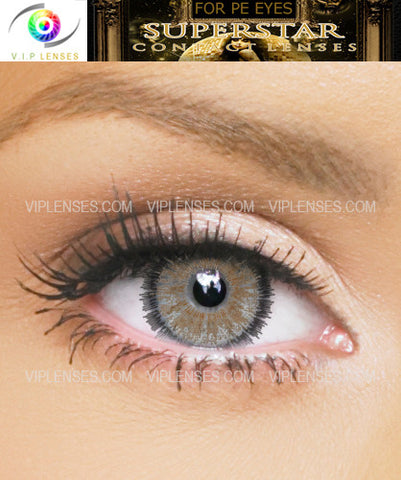 Superstar Light Brown Contact Lenses
