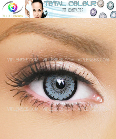 Total Blue Contact Lenses