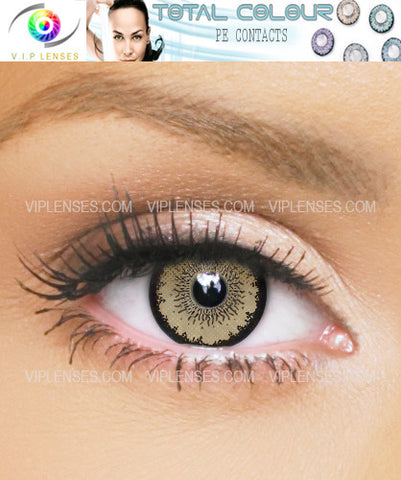 Total Honey Contact Lenses