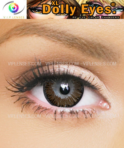 XL Dolly Eyes Chocolate Contact Lenses