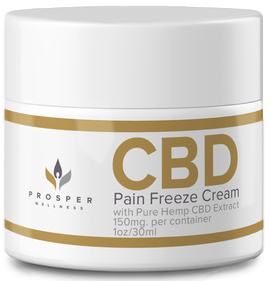20 pack of CBD Pain Freeze Cream