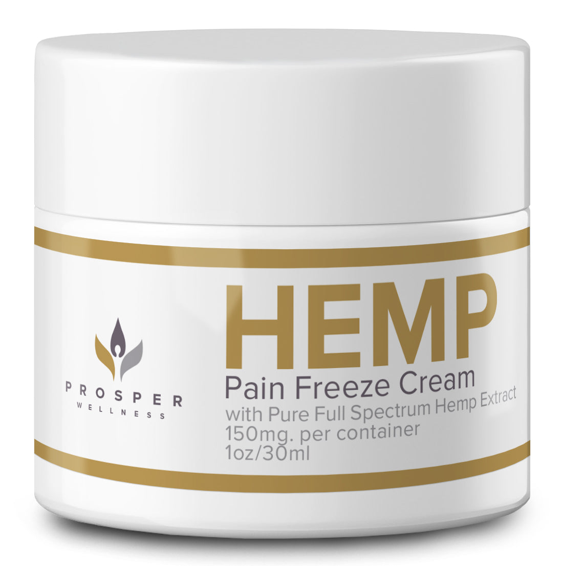 5-in-1 Full Spectrum Hemp Extract Pain Freeze Cream