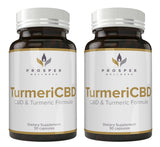 TurmeriCBD CBD & Turmeric Formula Get 2 Bottles for 20% Off Retail