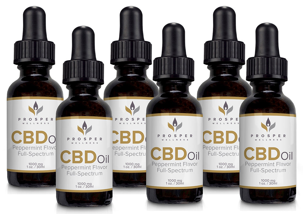 1000mg Full Spectrum CBD Tincture, Buy 3 Get 3 Free