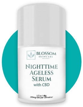 Blossom Nighttime Ageless Serum with CBD + Retinol