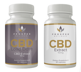 Two Bottles of CBD Capsules
