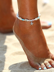 Shell Design Anklet