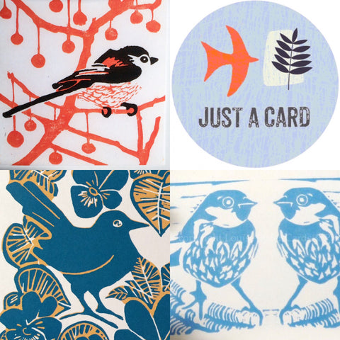 Louise Slater Cards for Just A Card Campaign