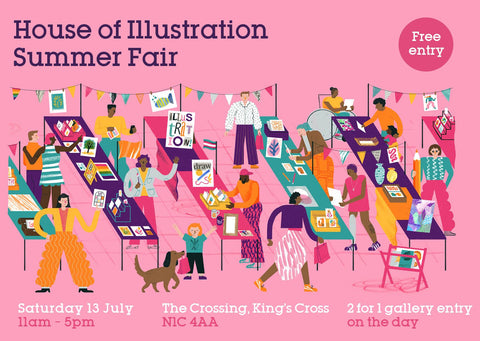 House of Illustration Summer Fair