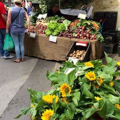 Sunflowers at Thames Ditton Farmers' Market