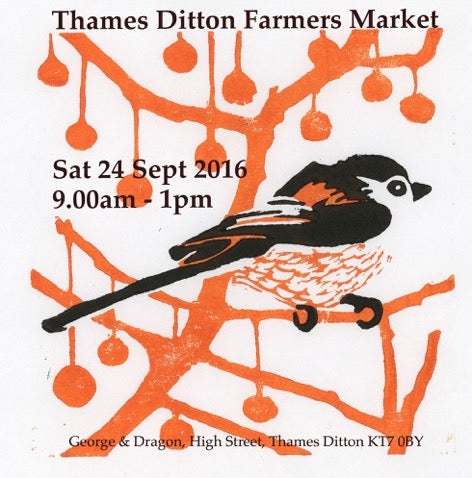 Thames Ditton Farmers Market Flyer 24 Sept 2016