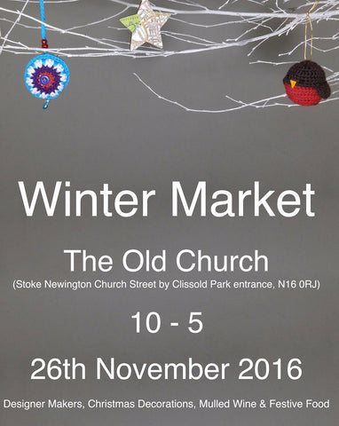 Winter Market flyer The Old Church