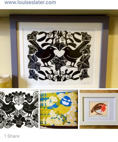 Lino Prints at The Children's Trust Tadworth