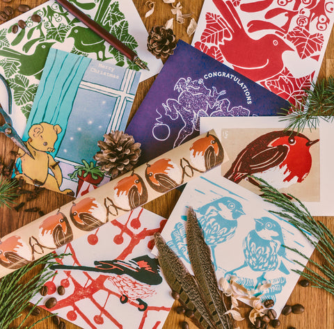 Christmas cards by Louise Slater