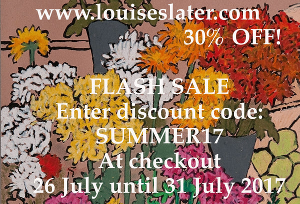 Louise Slater Cards Summer Sale 2017