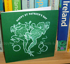 St Patrick's Day cards by Louise Slater