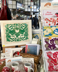 Louise Slater Cards at Portobello Road Market
