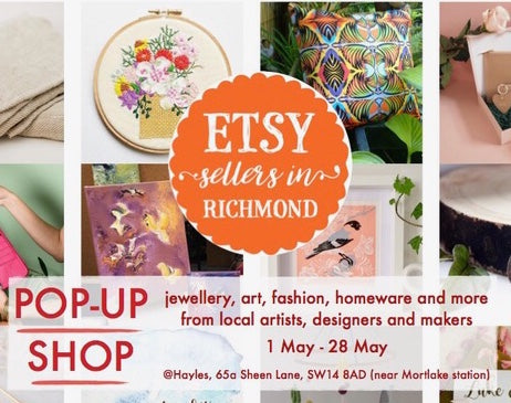 Etsy Sellers in Richmond Pop Up Shop