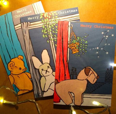 Christmas Cards Constellations Pack of 6