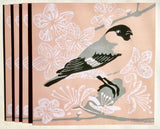 In The Pink Bullfinch card by Louise Slater