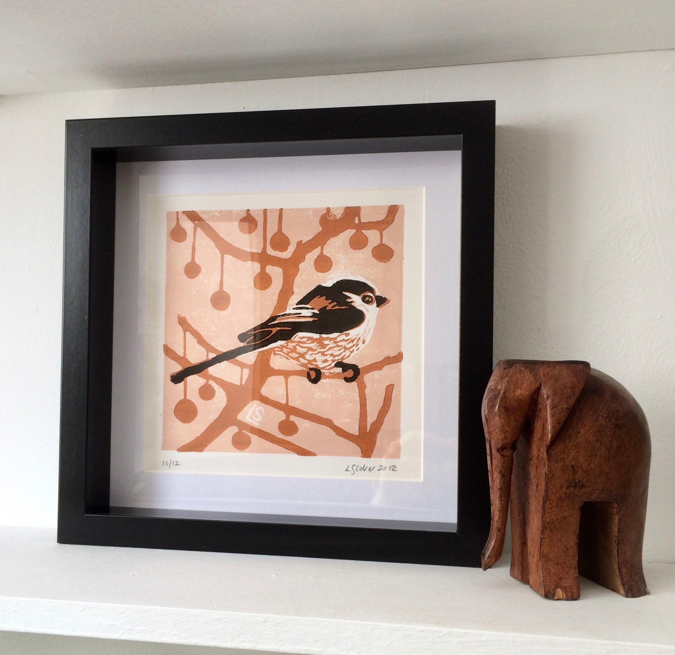Longtail in London Plane - 3 colour Lino Print – Louise Slater Cards &  Prints