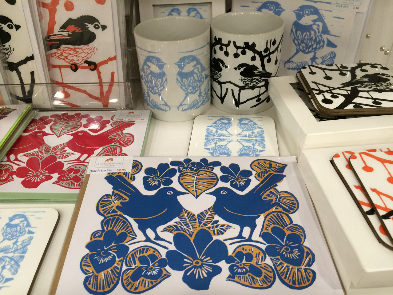 Louise Slater Cards & Prints at Things British St Pancras