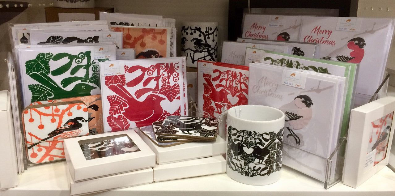 Louise Slater products available at Things British St Pancras
