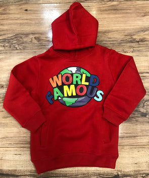 World Is Famous Kid's Hoodie- 10288LK