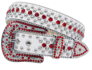 Ice Red Karma Belt- 1008