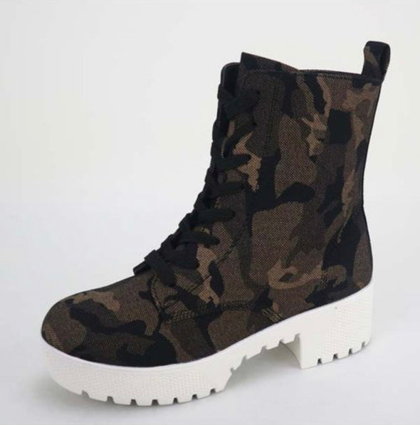 Camo Power Boot-WS103