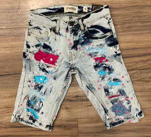 Kids Bleach Patched Jean-