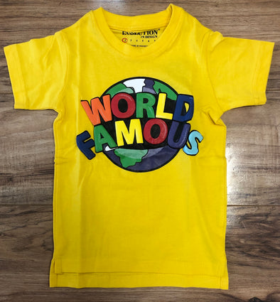 World Is Famous Tee- 18878K/LK
