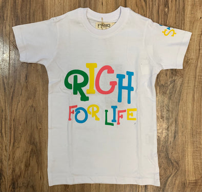 Rich For Life T-Shirt - 18952LK