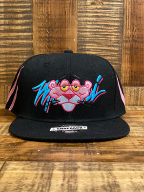 Black Pink Panther Hat-HGC023-HAT-63