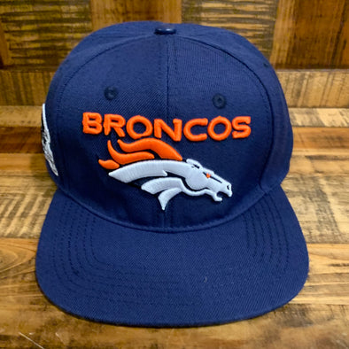 Broncos Leather Strap Hat- FDB740033