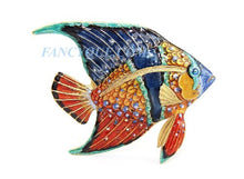 Load image into Gallery viewer, Tropical Fish Grotto Swarovski New